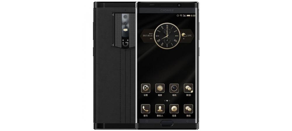 Gionee M2017, smartphone com 6 GB de RAM e 7000 mAh de bateria 2