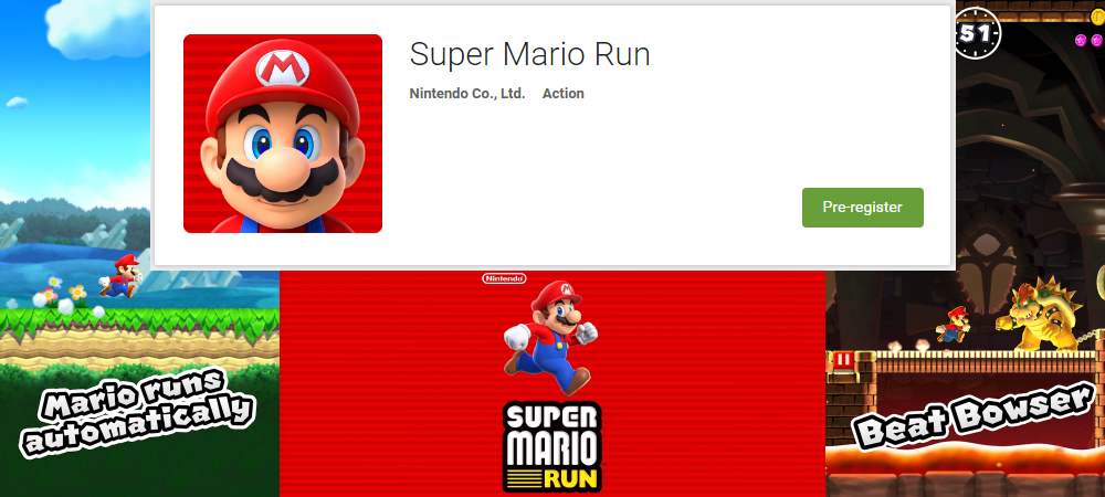Super Mario Run available for Android from today in the Play Store 1