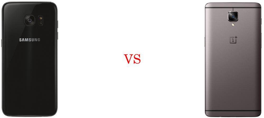 Samsung Galaxy S7 Edge versus OnePlus 3T 4