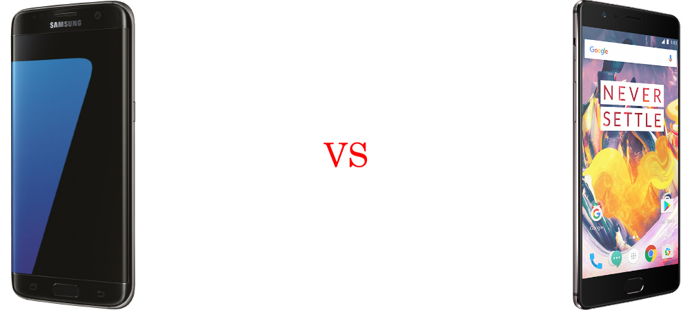 Samsung Galaxy S7 Edge versus OnePlus 3T 5