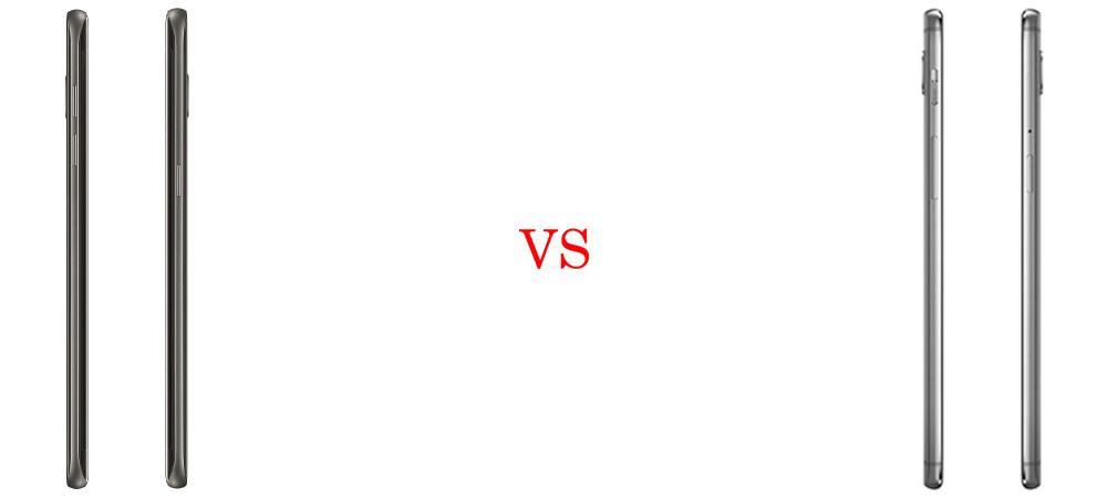 Samsung Galaxy S7 Edge versus OnePlus 3T 6