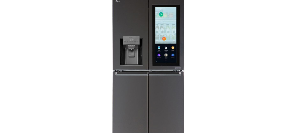 Amazon Alexa is part of the new LG smart fridge at CES 2017 1