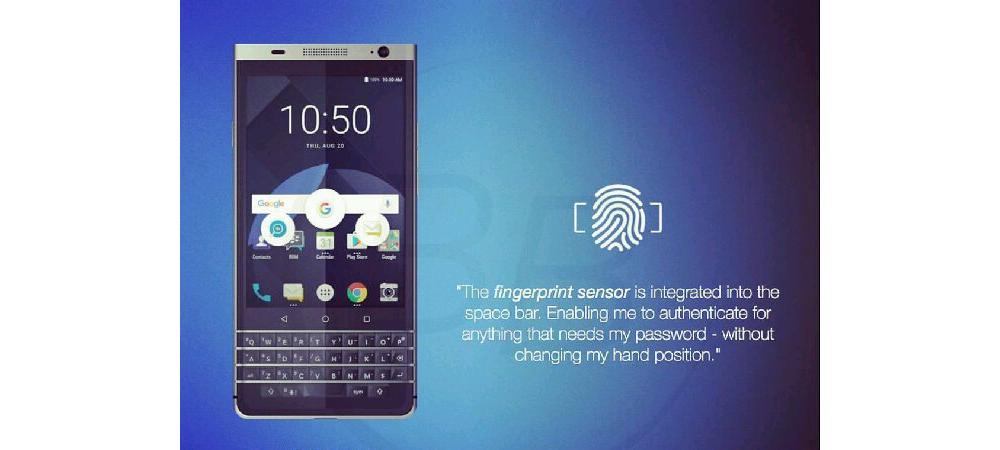 TCL apresenta novo smartphone Android da BlackBerry 1