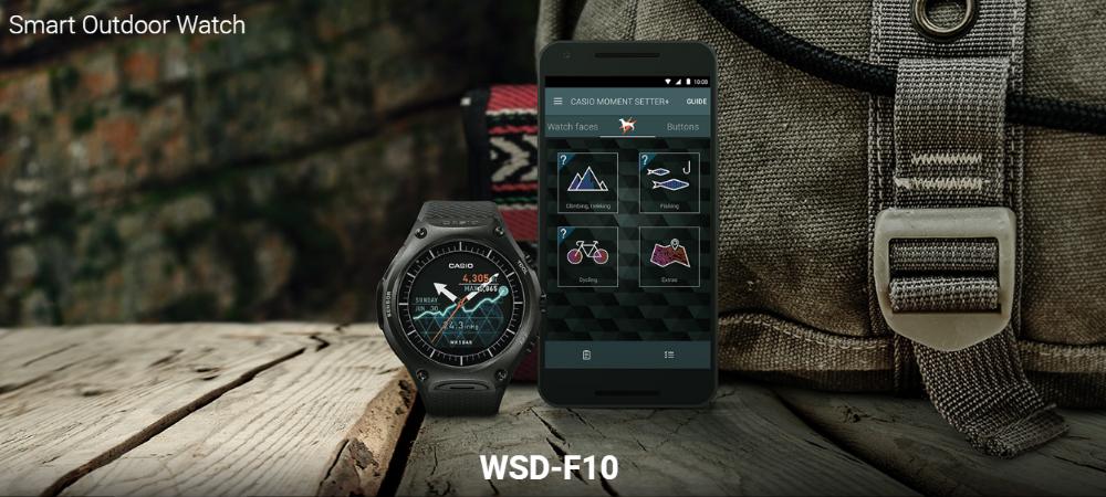 Casio anuncia o melhor SportWatch com GPS e Android Wear 2.0 2