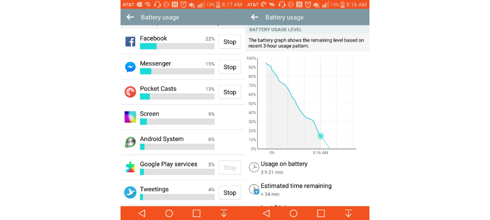 Facebook again causes problems of high battery drain