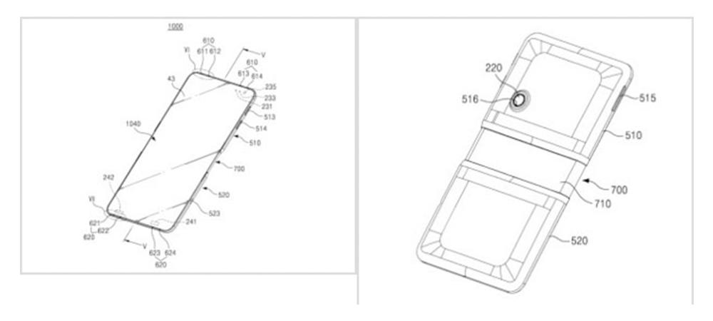 Samsung Galaxy X1 y X1 Plus, smartphones plegables ya a prueba 1