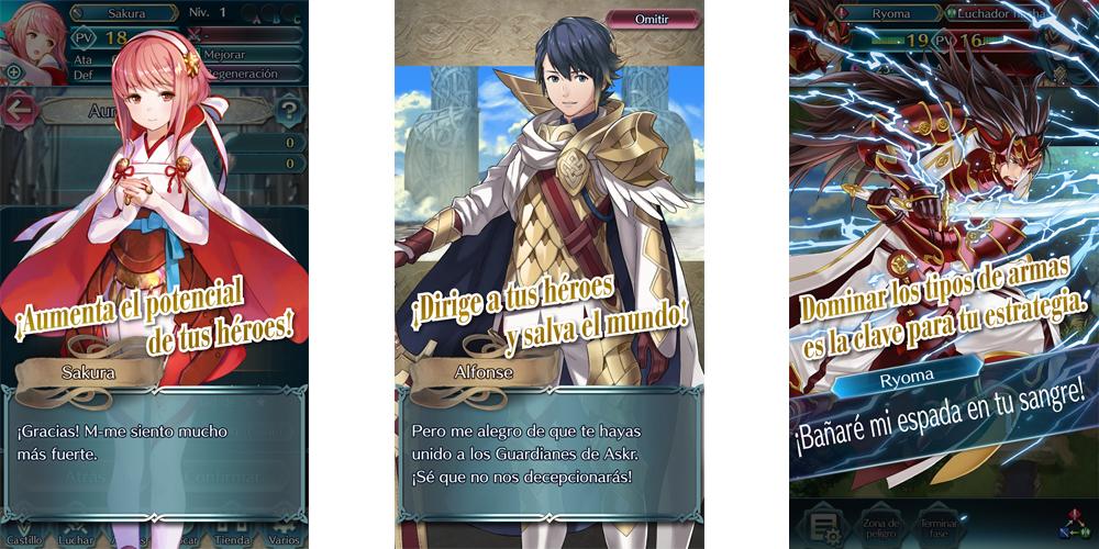 Nintendo anuncia Fire Emblem Heroes en Android e iOS en febrero 1