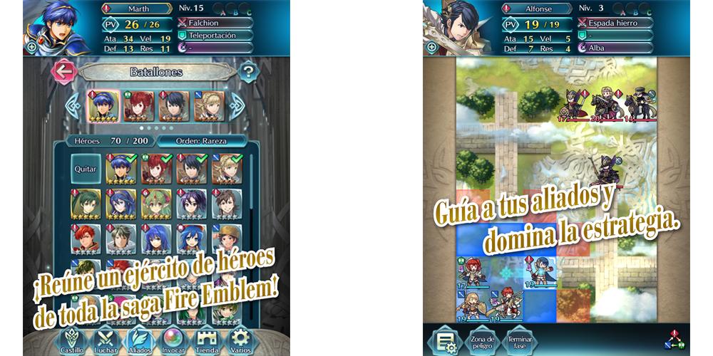 Nintendo anuncia Fire Emblem Heroes en Android e iOS en febrero 2
