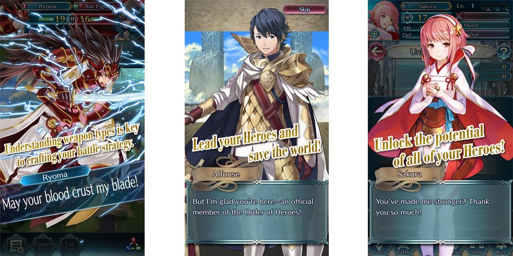 Nintendo anuncia Fire Emblem Heroes em Android e iOS em fevereiro 1
