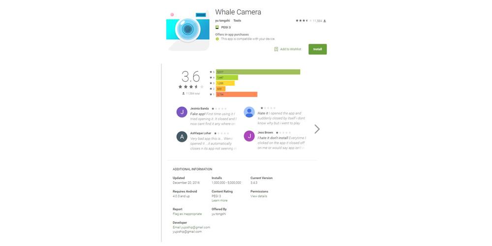 Hummingwhale, un nuevo malware presente en 10 millones de Android 1