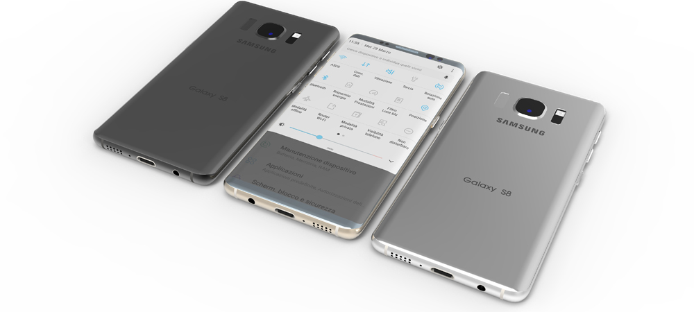 Samsung Galaxy S8 and Plus: first image and complete specs 2