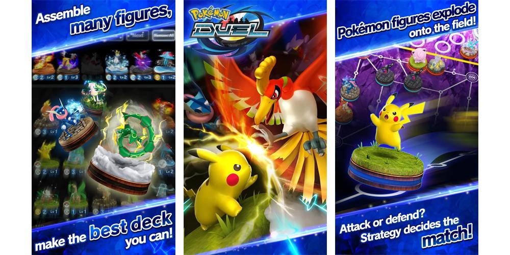 Pokemon Duel agora disponivel em iOS e Android 1