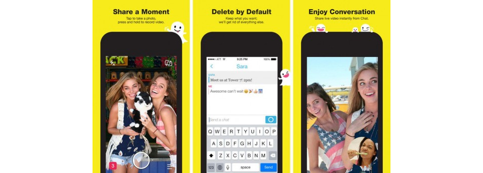 Snapchat prioritizes iOS app ahead of Android app 2