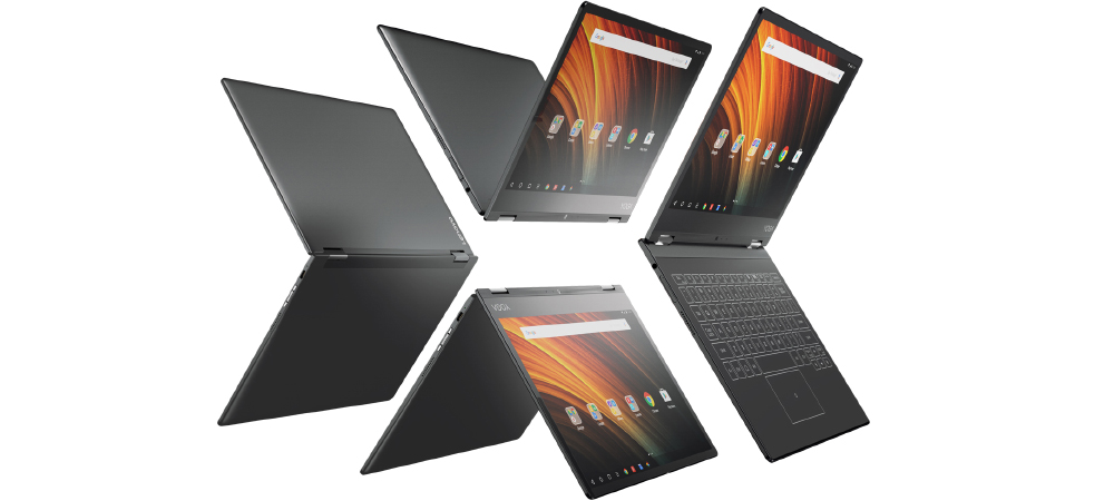 Lenovo Yoga A12 official, a cheap and less powerful Yoga Book 1