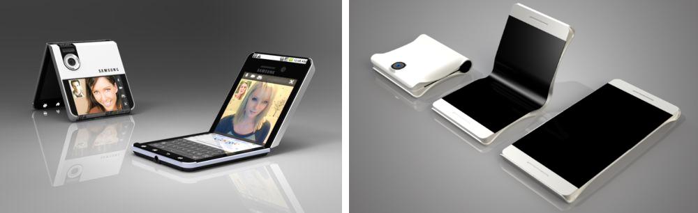 Smartphone dobravel da Samsung confirmado para MWC 3