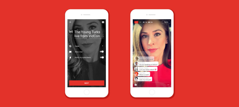 YouTube anuncia videos en directo desde smartphones y tablets 2