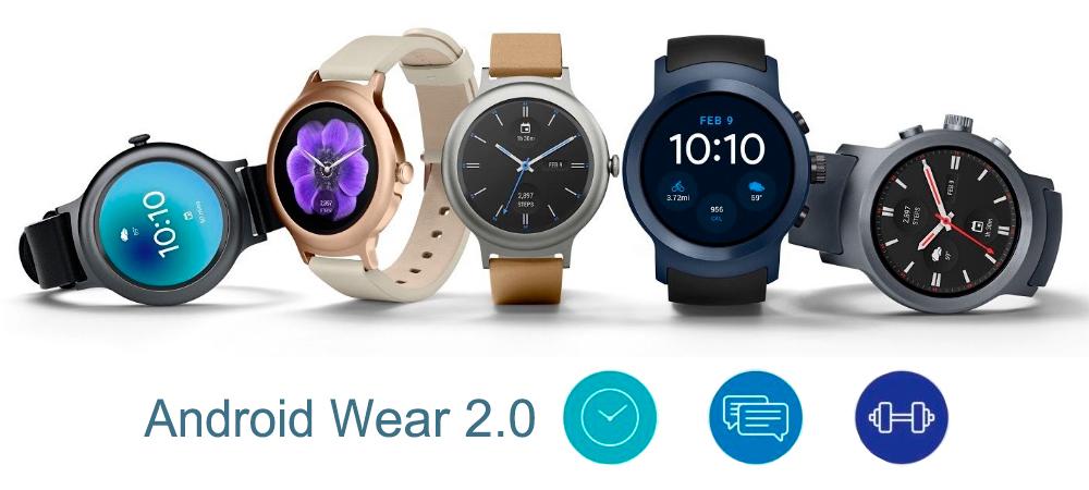 Android Wear 2.0 esta aqui: novos recursos no smartwatch 1