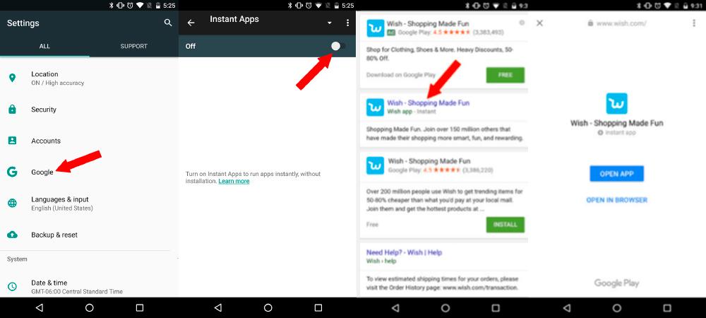 Wish, aplicativo instantâneo decomércio eletrônico 1