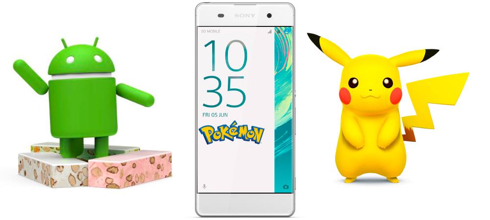 Sony Pikachu, nuevo smartphone de Pokemon con Android Nougat 1