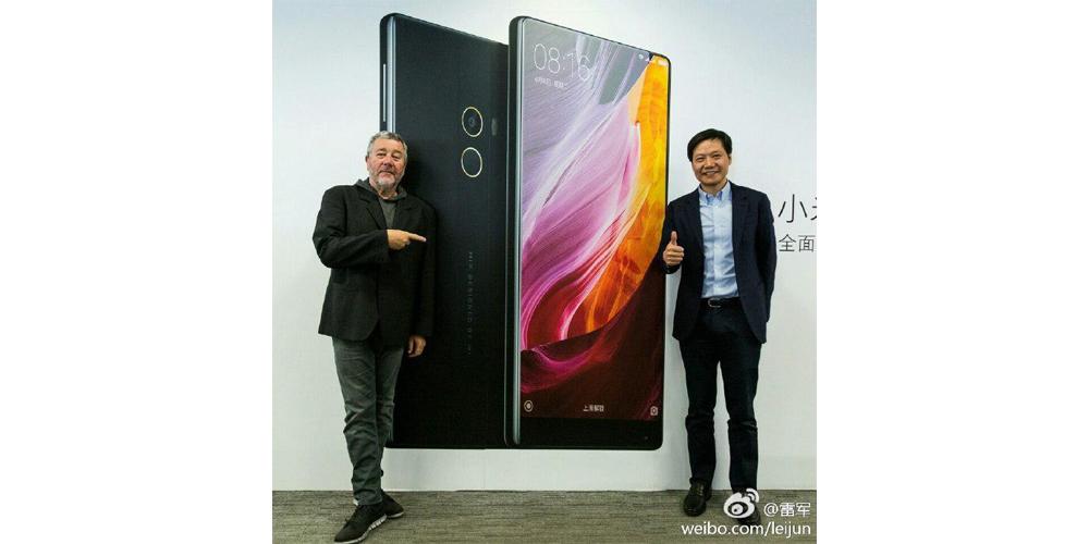 Xiaomi prepara smartphone sucesor del Mi Mix 1