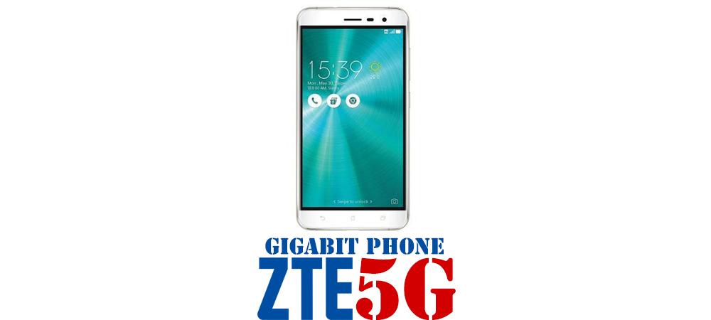 ZTE Gigabit Phone, 5G Android smartphone 1
