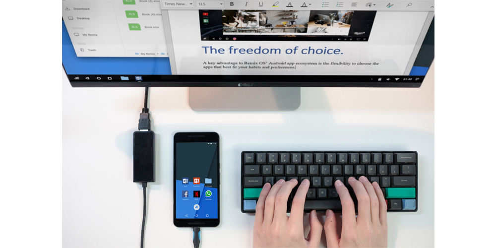 Remix OS for Mobile, transforma tu smartphone Android en un PC 1