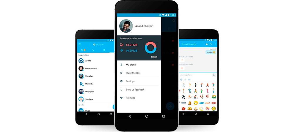 Microsoft anuncia Skype Lite para dispositivos Android 1