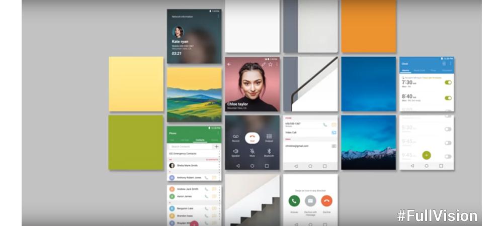 La pantalla Full Vision del LG G6 en teaser vídeo 1