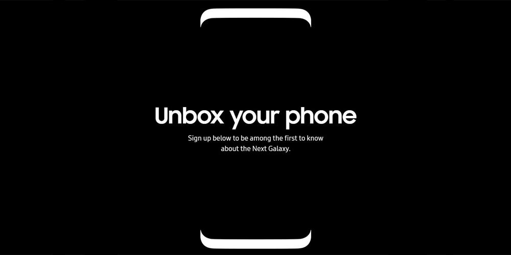 Samsung Galaxy S8 ja tem pagina de registro oficial para usuarios 1