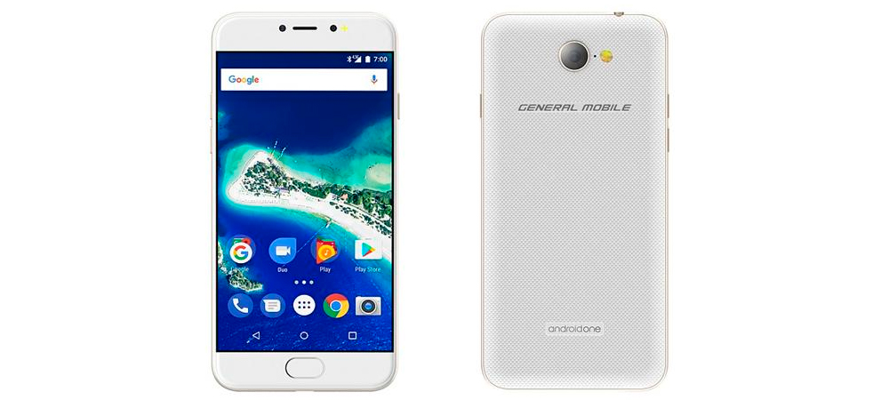 General Mobile GM6, novo smartphone Android One 1