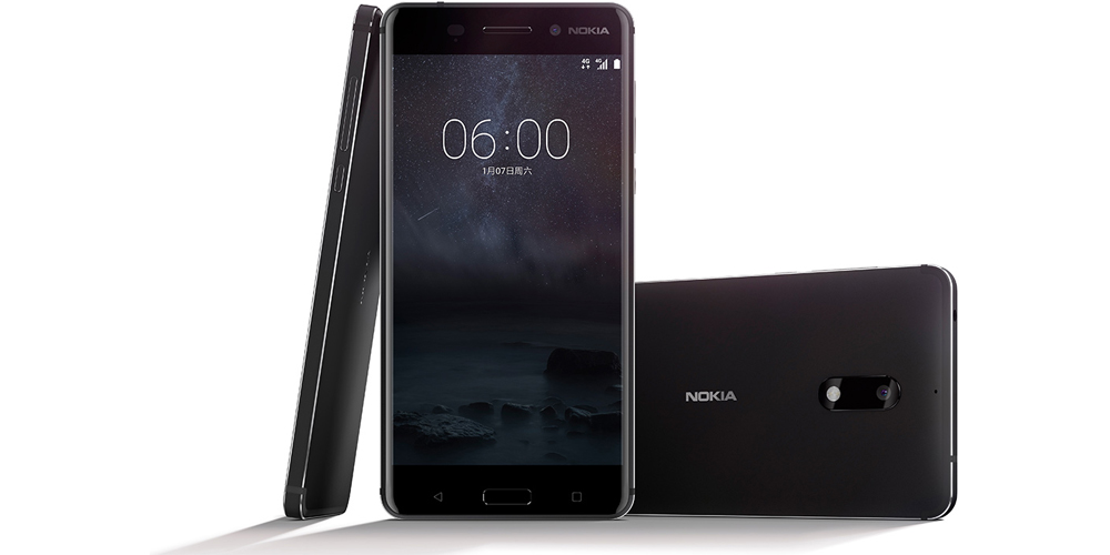 Nokia 3, Nokia 5 and Nokia 6, new Android smartphones by HMD Global 1