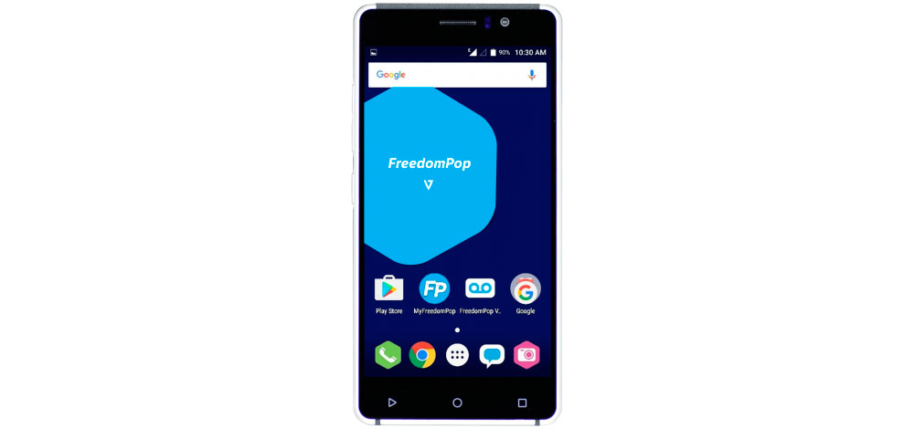 FreedomPop launches a low cost Android smartphone (FreedomPop V7) 1