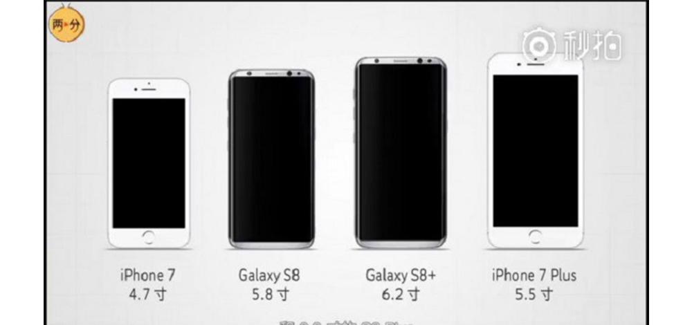 Galaxy S8 e S8 Plus vs outros smartphones tope da gama 2