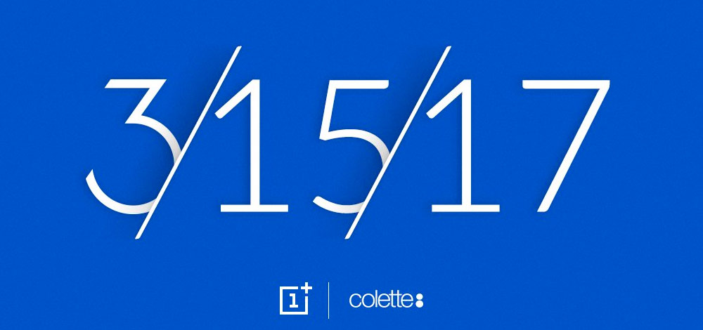 OnePlus 3T (Colette Paris Edition), personalized Android smartphone 1