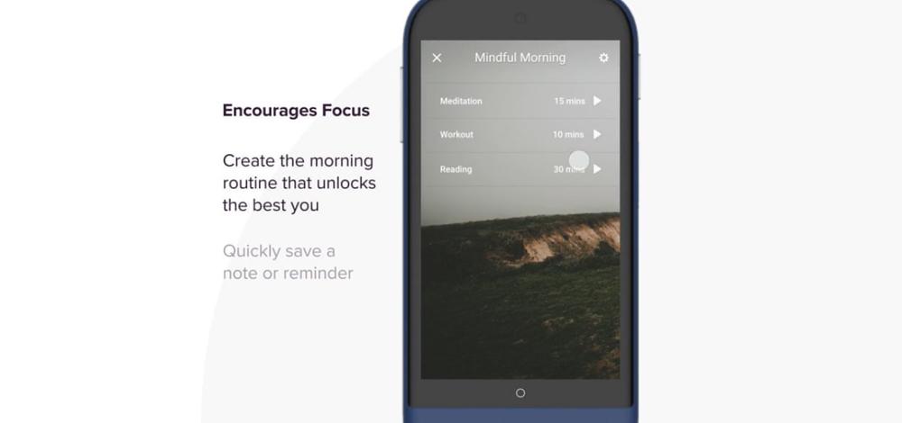 Siempo, smartphone que luta contra o vício do smartphone 2