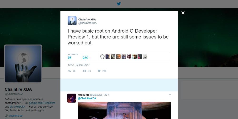 Rootear tu dispositivo en Android O es muy sencillo con Chainfire 1