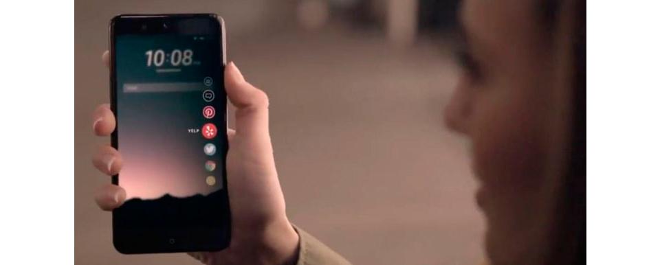 HTC U Ocean, smartphone revolucionario con Sense 9 y Edge Sense 1