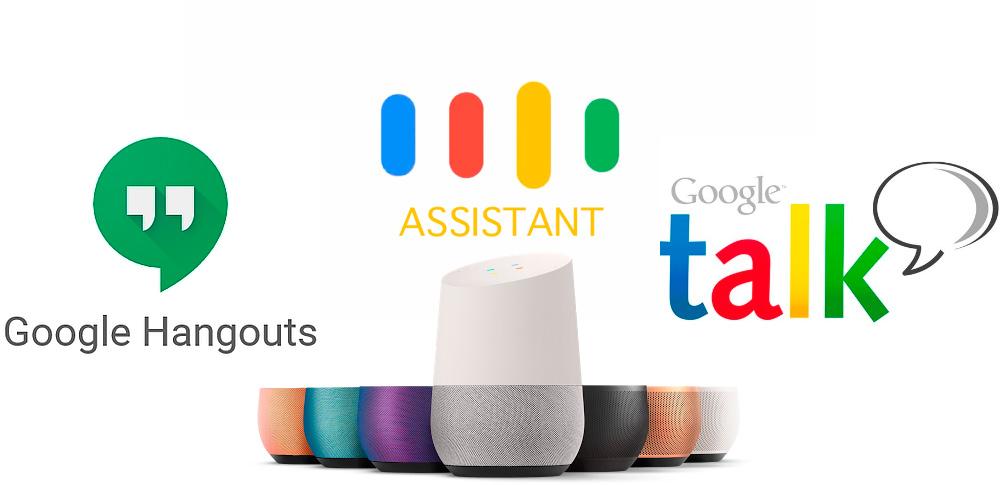 Google potencia Assistant y Home, actualiza Hangouts y olvida Talk 1