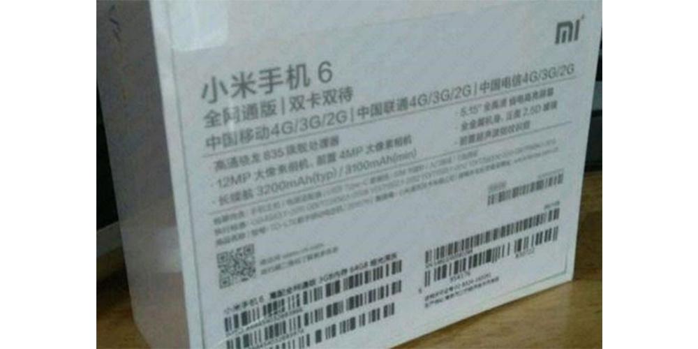 Xiaomi Mi 6, novas confirmacoes para o anuncio em abril 1