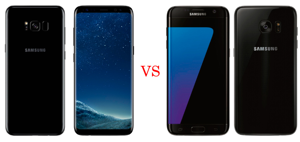 Samsung Galaxy S8 Plus vs Samsung Galaxy S7 Edge (Comparativa) 1