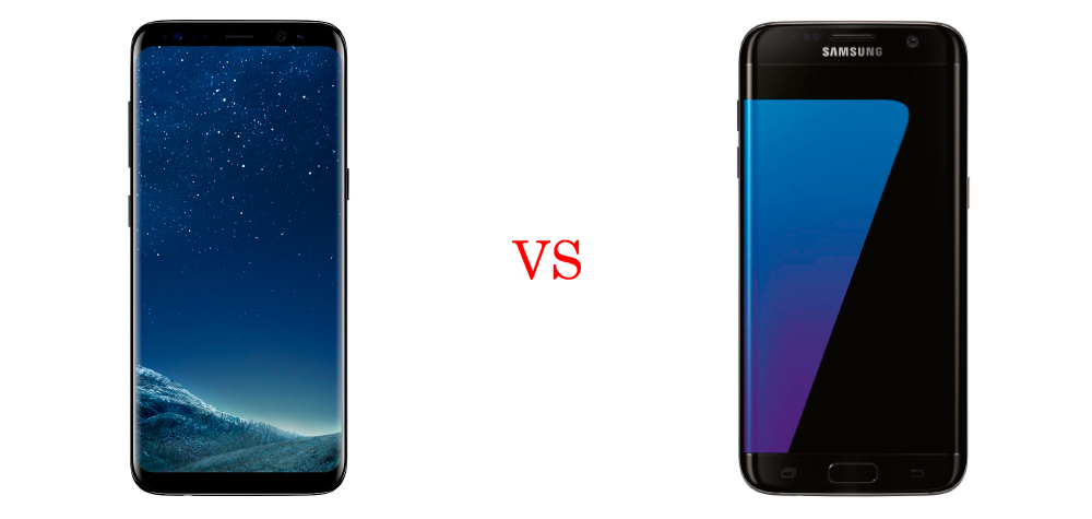 Samsung Galaxy S8 Plus vs Samsung Galaxy S7 Edge (Comparativa) 2