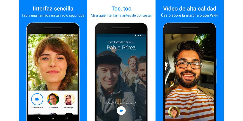 Google Duo, disponible en todo el mundo con llamadas de voz 1