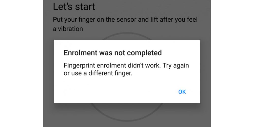 Android 7.1.2 causes error in Nexus and Pixel fingerprint reader 1