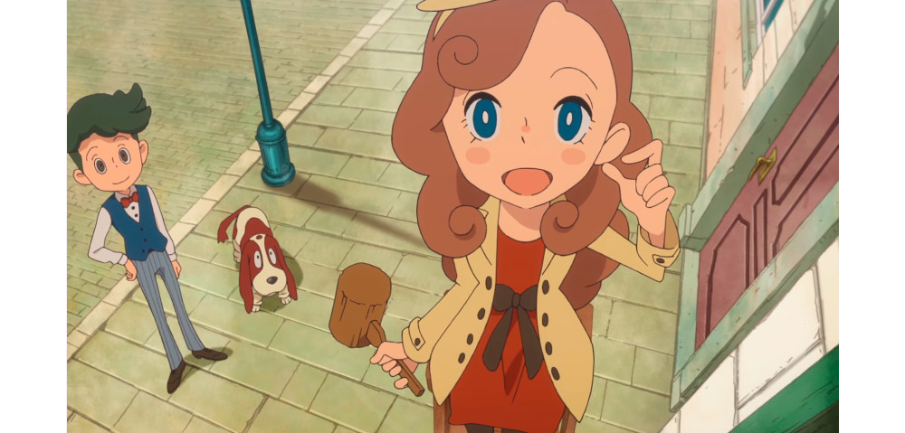 Lady Layton, the new game of Professor Layton, arrives at Android 1