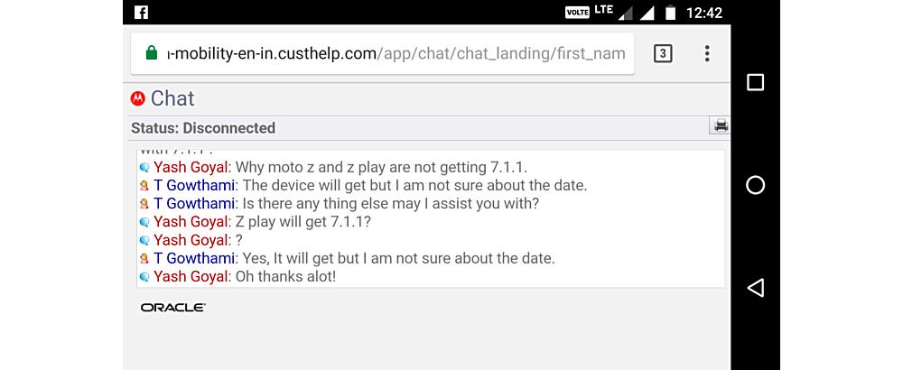 Moto Z Play: atualizacao confirmada para Android 7.1.1 Nougat 1