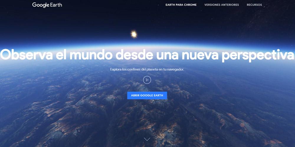 Nuevo Google Earth para Chrome y para Android 1