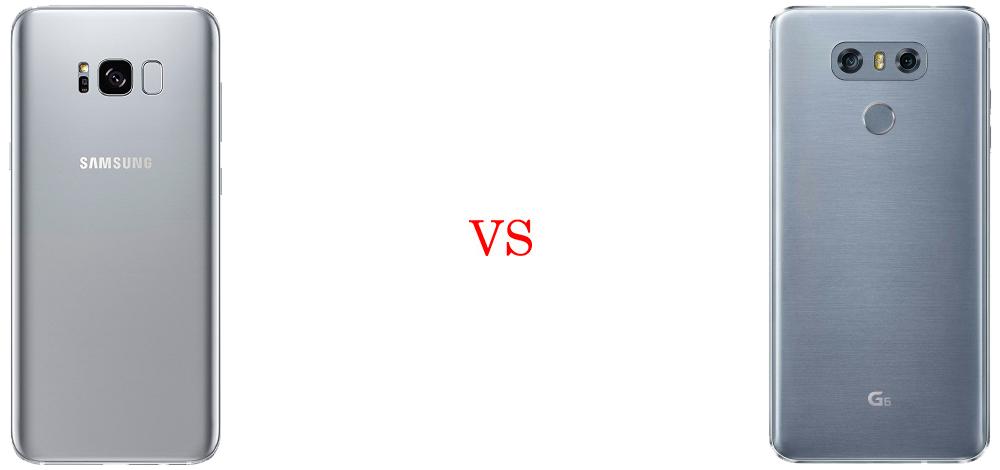 Samsung Galaxy S8 vs LG G6 3