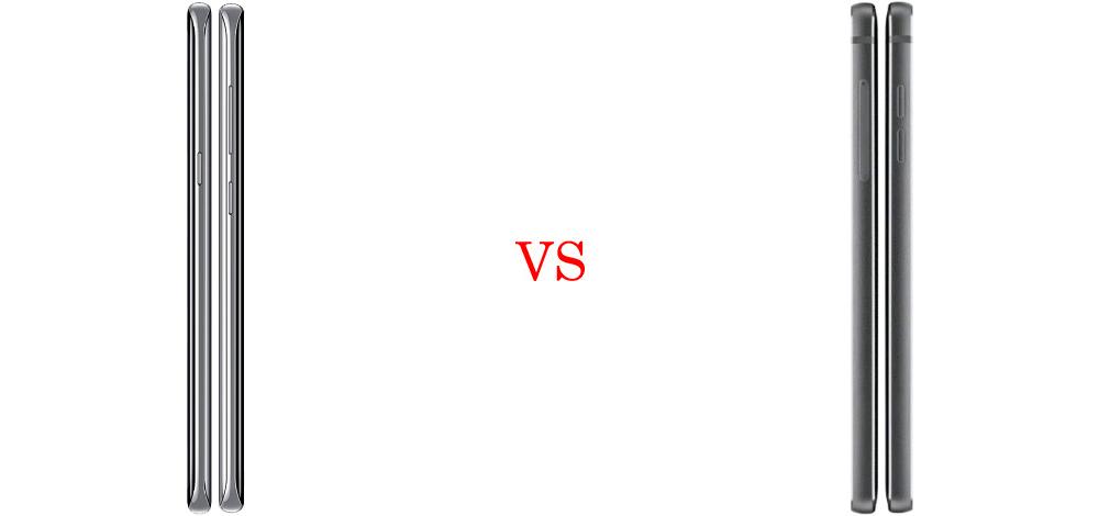 Samsung Galaxy S8 vs LG G6 4