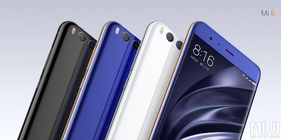 Xiaomi Mi 6 oficial: especificaciones, precio y lanzamiento 1