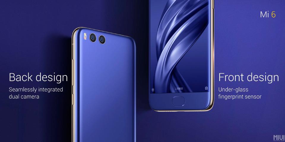 Xiaomi Mi 6 oficial: especificaciones, precio y lanzamiento 2